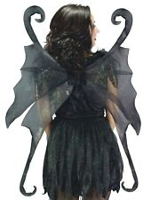 Wings Fairy Large Black Adult Costume Accessory
