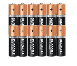 Duracell AA PLUS POWER Alkaline Battery DURALOCK 12 PACK LR6 EX/DATE 2030