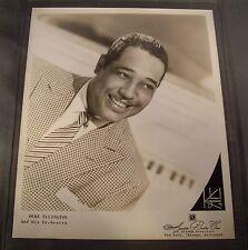 Original 1950's 8 x 10 Publicity Photo Duke Ellington James J. Kriegsmann Studio