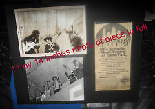 ALLMAN BROTHERS DUANE & BONNIE & DELANY CENTRAL PARK 70 1 OF A KIND PHOTOS & AD