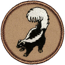 Cool Boy Scout Patches- Skunk Patrol! (#035)