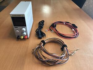 Electric Dreams Power Supply 30V/10A w/ After Market Carrera 132 Wiring Harness