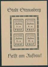 Strausberg Block 2 II postfrisch/**, Wiederaufbau (60292)