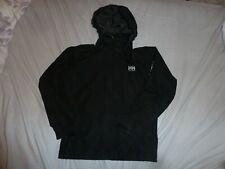 Helly Hansen Tech Black Wind Cheater Rain Coat Jacket  Age 12  152cm