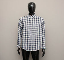 ACNE POP CLASSICS Men's Check Long Sleeve Shirt Top 38 S