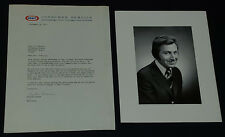 1971 - THE DES O'CONNOR SHOW - PHOTO + KRAFT FOOD REPLIE LETTER TO FAN -ORIGINAL
