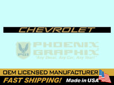 1994 1995 Chevrolet S-10 Truck End Tailgate Decal