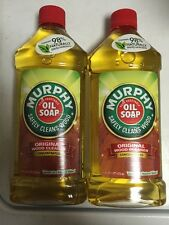 2 bottles- Murphy´s 16 Oz Oil Soap Liquid Wood Floor Cabinet Paneling Cleaner