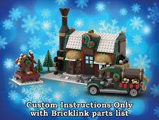 LEGO Winter Village Chocolatier INSTRUCTIONS ONLY for LEGO Bricks (Christmas)