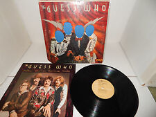 THE GUESS WHO Power in the Music Die-cut toploader 1975 APL 1-0995 tan label LP