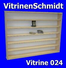 VitrinenSchmidt® 024  Setzkasten / Vitrine, Schiffe, Stempel, Bären etc.