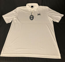 Greg Norman ML75 Golf Shirt Polo (XL, White)(NWT) MSRP $70