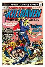 Amazing Adventures (Vol 3) #34 (1/76)-Vg / Killraven; P.C. Russell-a/c (a)^