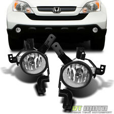 For 07-09 Honda CRV CR-V Bumper Fog Lights Lamp Left+Right 2007-2009 Aftermarket
