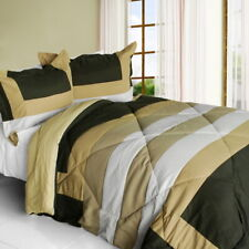 [Blooming Rosemary] Quilted Patchwork Down Alternative Comforter Set (Twin Size)