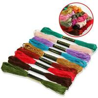 50/100/150 Colors Anchor Stranded Cotton Embroidery Thread Floss Skeins Nice