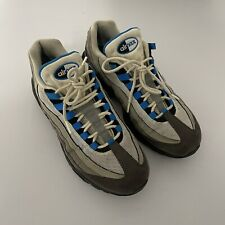 NIKE AIR MAX '95 OG CRYSTAL BLUE AT8696-100 Mens Trainers UK Size 8