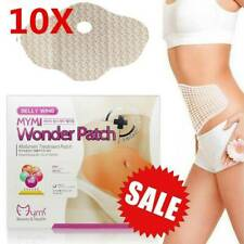 10pcs Strongest Wonder Slimming Patch Belly Abdomen Weight Loss Burning Fat