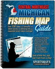 Central Northeast Michigan Fishing Map Guide | Sportsman's Connection