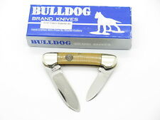 VTG 1996 BULLDOG BRAND PIT BULL CANOE FOLDING POCKET KNIFE WATERFALL