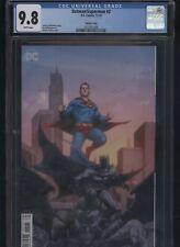 Batman/Superman #2 CGC 9.8 Jerome Opena variant cover 2019