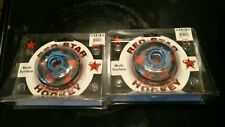 New two 2 Red Star Spitfire Multi-surface Blade Roller Hockey Wheels 72mm 78A
