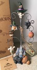 Jim Shore Fright Halloween Ornament Shrieking Tree Ghost Bat Pumpkin Cat Witch