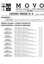 MODELLISMO AEREO Listino Prezzi MOVO 06 1942 - DVD