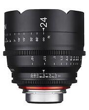 New Rokinon Xeen 24mm T1.5 Professional Cine Full Frame Lens CANON NIKON PL SONY
