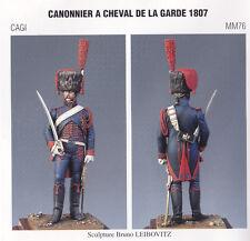 METAL MODELES CAGI MM76 - CANONNIER A CHEVAL DE LA GARDE 1807 - 54mm METAL