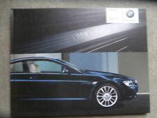 BMW Individual 6er Coupé E63 +Cabrio E64 +M6 Buch Katalog Catalogue 9/2005