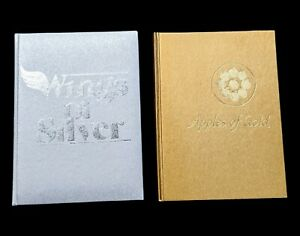 APPLES OF GOLD 1962 and WINGS OF SILVER 1967 by Jo Petty HC Books Vintage