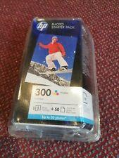 HP 300 Tri-Color Cartucho de tinta foto Starter Pack