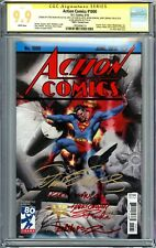 Action Comics #1000 CGC SS 9.9 Not 9.8 1930's Variant *Multiple signatures*