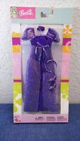 BARBIE FASHION PACK Bridesmaid Tiara Shoes PURPLE DRESS Princess 2003