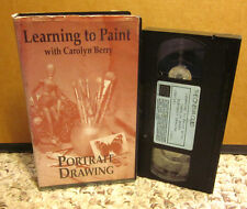 CAROLYN BERRY art instructional painting Portrait Drawing models VHS charcoal