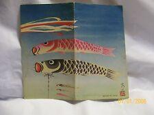 vintage Japanese envelope Tourist industry/government railways  TOKYO