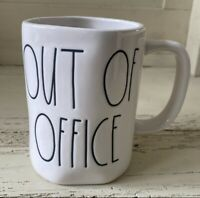 """Rae Dunn 2019 Mug """"OUT OF OFFICE""""  NEW HTF! Low ship! ☕️☕️☕️"""
