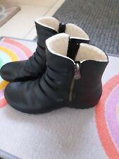 Ladies Black Rieker Ankle Boots size 5