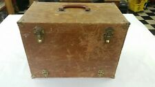 Vintage Hoffman'S No.1200 Wood Tackle box