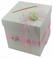 Briefbox Geldgeschenke rosa Hochzeit BB0019