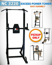 New Power Tower Chin-Up Pull Up Multi Station Home Gym Fitness Exercise Brisbane