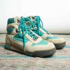 Vintage 80s 90s Vasque Hiking Boots Men's 7.5 Style 7591 Grey / Turquoise