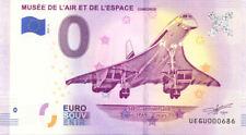 93 LE BOURGET Concorde 2, 50 ans, N° de la 7ème, 2019, Billet 0 € Souvenir