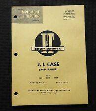1961 J I CASE 400 700B 800B 730 740 830 840 830C 840C TRACTOR I&T SERVICE MANUAL