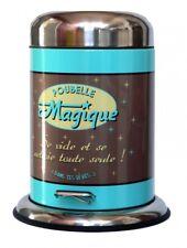 Kosmetikeimer Abfallbehälter Badezimmer Mülleimer Retro Poubelle Magique 2 L