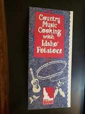 COUNTRY MUSIC STARS COOK BOOK IDAHO POTATOES CHARLIE DANIELS ALAN JACKSON EMMYLO
