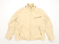 Timberland Mens Size XL Cotton Blend Beige Jacket