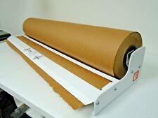 """18"""" Roll Paper Holder Cutter Dispenser Gift Wrap Kraft Paper Tekno Duralov"""