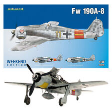 Fw 190A-8 - 1/48 Weekend Edition Eduard Aircraft Model Kit #84120